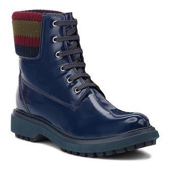 Workery damskie Geox niebieski