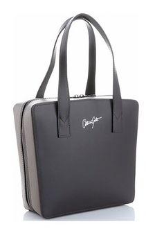 Shopper bag Vittoria Gotti ze skóry matowa elegancka