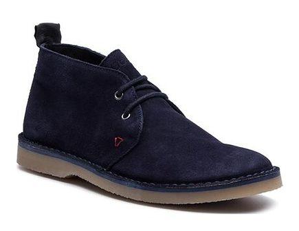 Buty zimowe męskie Guess casual sznurowane z tworzywa sztucznego