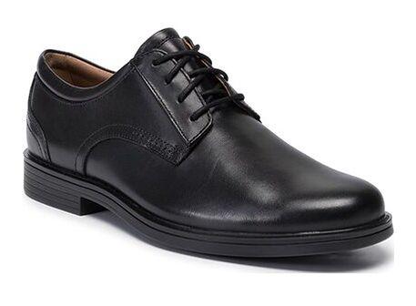 Buty eleganckie męskie Clarks jesienne sznurowane