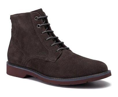 Buty zimowe męskie Geox eleganckie sznurowane