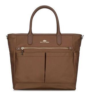 Shopper bag Wittchen do ręki elegancka skórzana