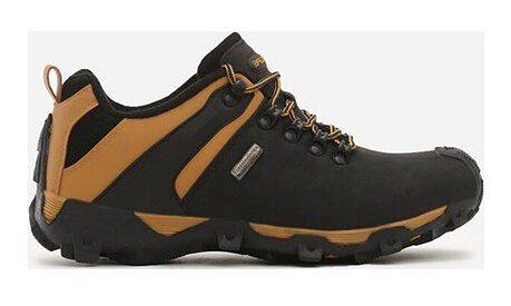 Buty sportowe męskie Born2be ze skóry ekologicznej sznurowane