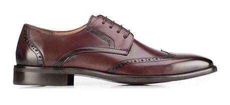 Buty eleganckie męskie Wittchen sznurowane skórzane