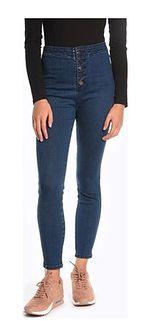 Niebieskie jeansy damskie Gate