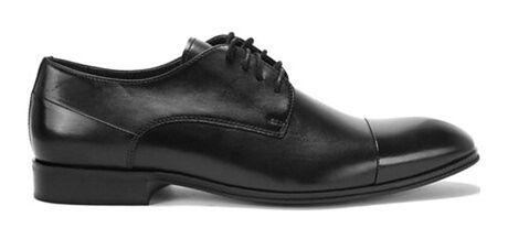 Buty eleganckie męskie Domeno czarny