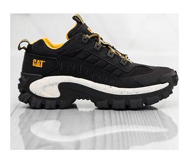 Buty sportowe męskie czarne wiązane