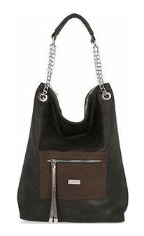 Shopper bag Conci bez dodatków duża na ramię