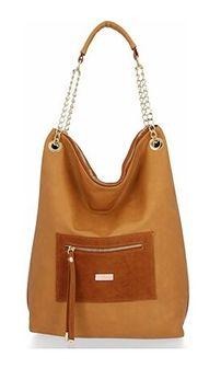 Shopper bag Conci zamszowa