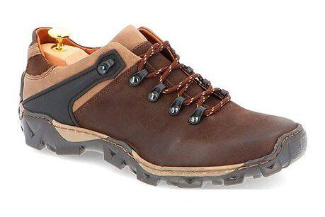Buty trekkingowe męskie Kent skórzane sportowe