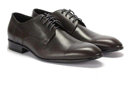 Buty eleganckie męskie Domeno sznurowane