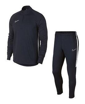 Dres męski czarny Nike bez wzorów