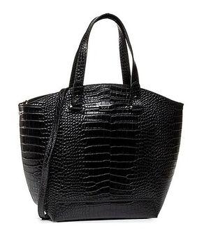 Shopper bag Quazi czarny