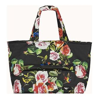 Shopper bag Byinsomnia na ramię wakacyjna