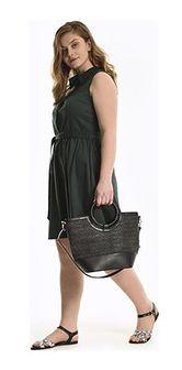 Shopper bag Gate na ramię bez dodatków z poliestru