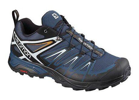 Buty trekkingowe męskie Salomon sportowe sznurowane
