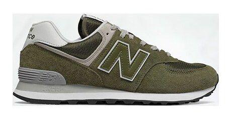 Buty sportowe męskie New Balance new 575 zielone sznurowane