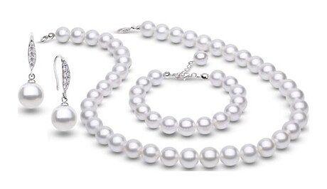 Komplet biżuterii ze srebra