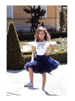 Spódnica dziewczęca Lavashka gładka