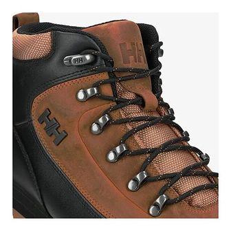 Helly Hansen buty zimowe męskie brązowe skórzane