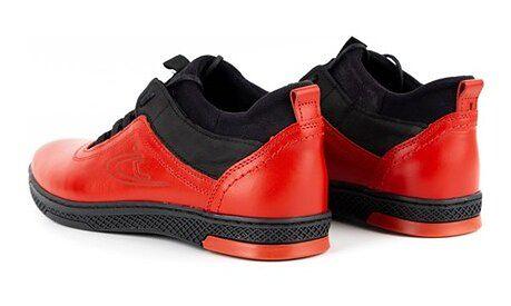 Buty sportowe męskie Polbut czerwone wiosenne