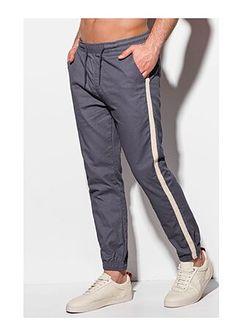 Spodnie męskie niebieskie Edoti.com