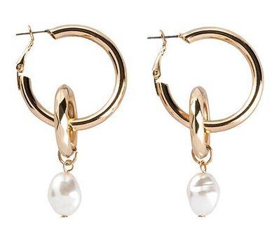 Kolczyki Bonprix z perłą