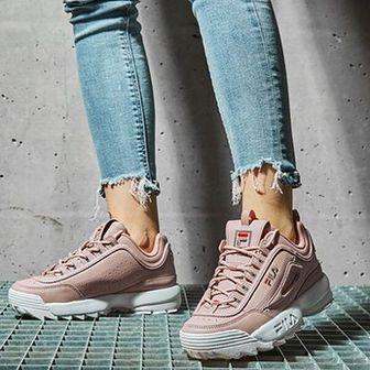 Buty sportowe damskie Fila rozowy