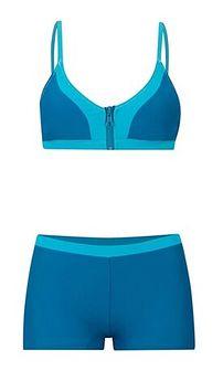 Strój kąpielowy niebieski Bonprix