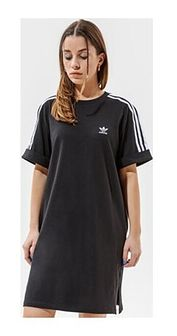 Sukienka Adidas sportowa prosta z krótkim rękawem na wiosnę mini