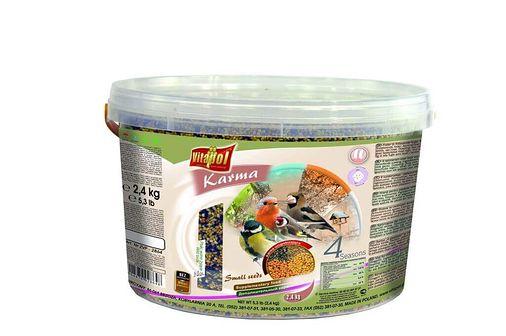 VITAPOL Pokarm dla ptaków wolnożyjących 3l 2.4 kg drobne nasiona