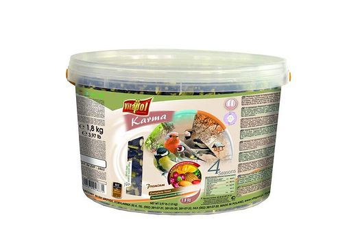 VITAPOL Pokarm dla ptaków wolnożyjących 3l 1.8 kg premium