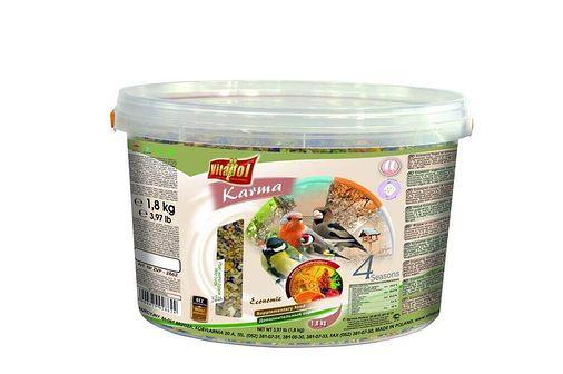 VITAPOL Pokarm dla ptaków wolnożyjących 3l 1.8 kg economic