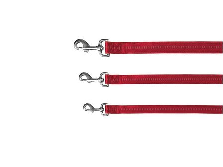 TRIXIE Softline Elegance smycz  czerwona 1 m/ 15 mm