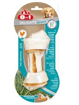 8IN1 Przysmak dental delights bone M