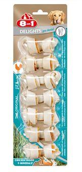 8IN1 Przysmak Dental Delights Bones XS 7 szt.