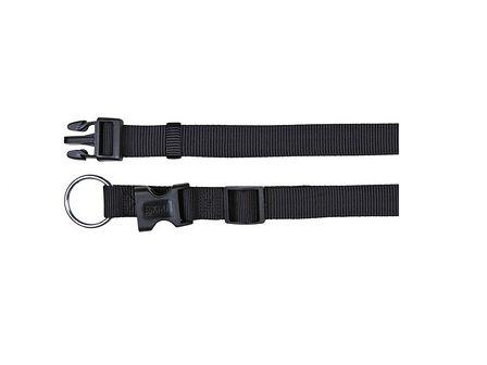 TRIXIE Obroża classic collar 30-45 cm czarna