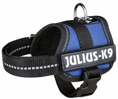 TRIXIE Szelki Julius-K9 powerharness baby XS 30–40 cm niebieski