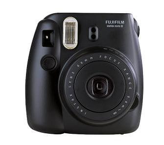 Fujifilm Instax Mini 8S (czarny)  - odbierz w sklepie!