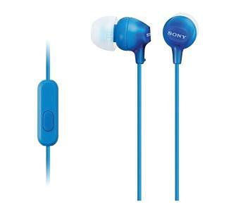 Sony MDR-EX15AP (niebieski)