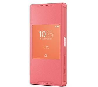 Sony Xperia Z5 Compact Style Cover Window SCR44 (koral)