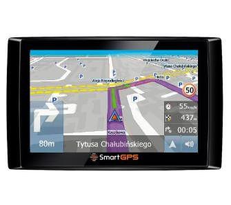 SmartGPS SG732 + OpenStreetMap PL