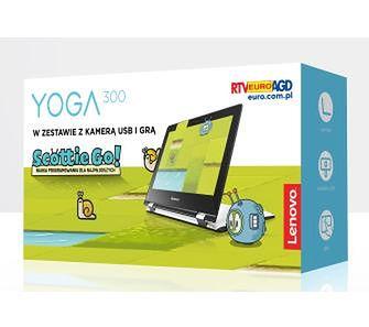 "Lenovo Yoga 300 11,6"" Intel Celeron N3050 - 2GB RAM - 32GB Dysk - Win10 + gra"
