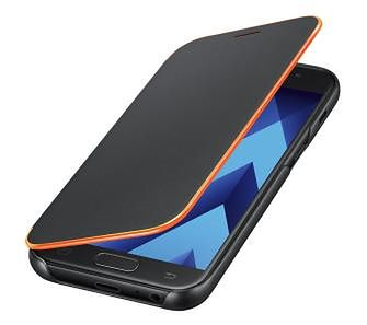 Samsung Galaxy A3 2017 Neon Flip Cover EF-FA320PB (czarny)