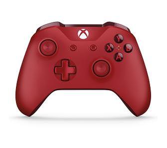Microsoft Xbox One S Kontroler bezprzewodowy (czerwony)