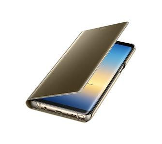 Samsung Galaxy Note8 Clear View Standing Cover EF-ZN950CF (złoty)