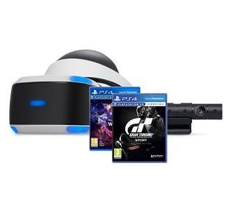 Sony PlayStation VR + PlayStation 4 Camera v2 + Gran Turismo Sport + VR Worlds