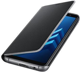 Samsung Galaxy A8 2018 Neon Flip Cover EF-FA530PB (czarny)