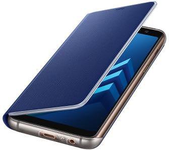 Samsung Galaxy A8 2018 Neon Flip Cover EF-FA530PL (niebieski)