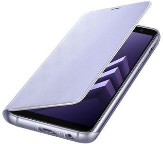 Samsung Galaxy A8 2018 Neon Flip Cover EF-FA530PV (fioletowy)